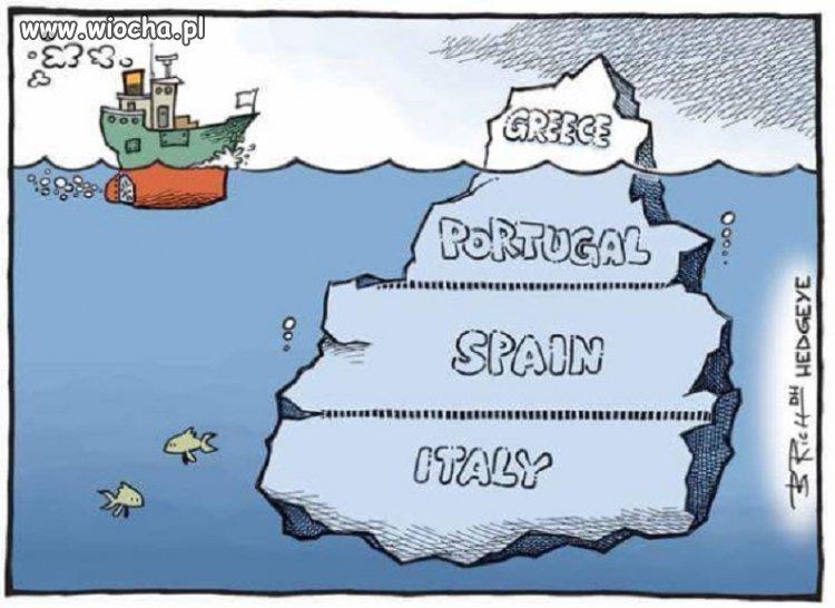 Grecja to tylko czubek góry lodowej
