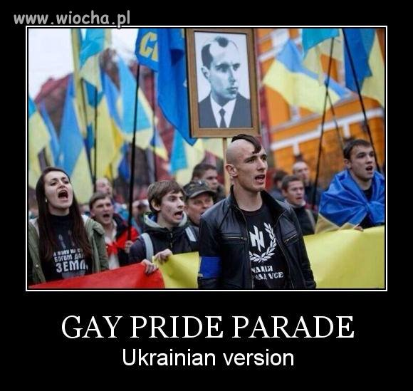 Ukraińska parada gejów...