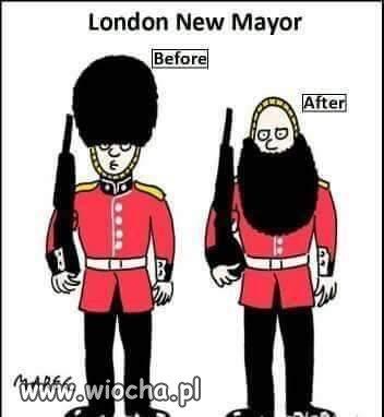 Nowy włodarz Londynu