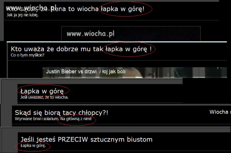 Wiocha na wiocha.pl