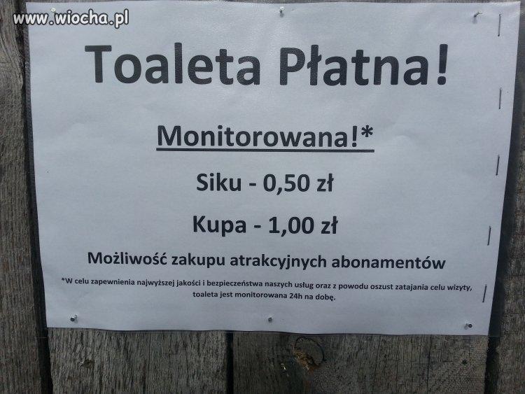 Toaleta pod Kościołem w Łęczycy