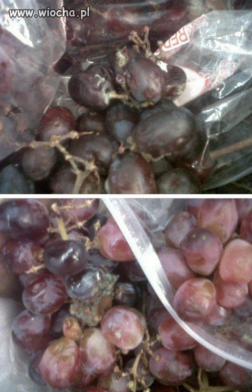 Swieże winogrona tylko z Biedronki