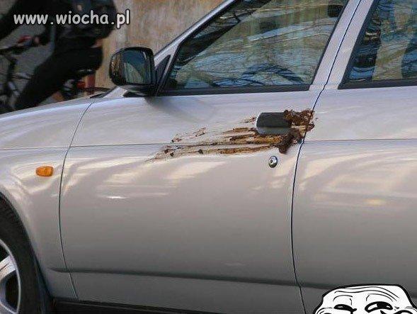 Nie parkuj jak pi*da