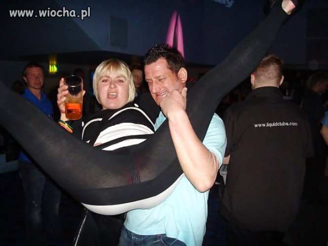 Z żoną na imprezie