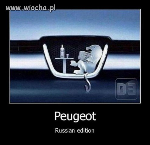 Peugeot - edycja rosyjska