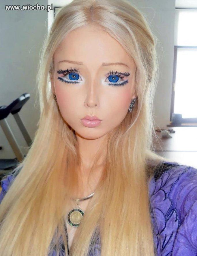 Prawie jak Barbie.