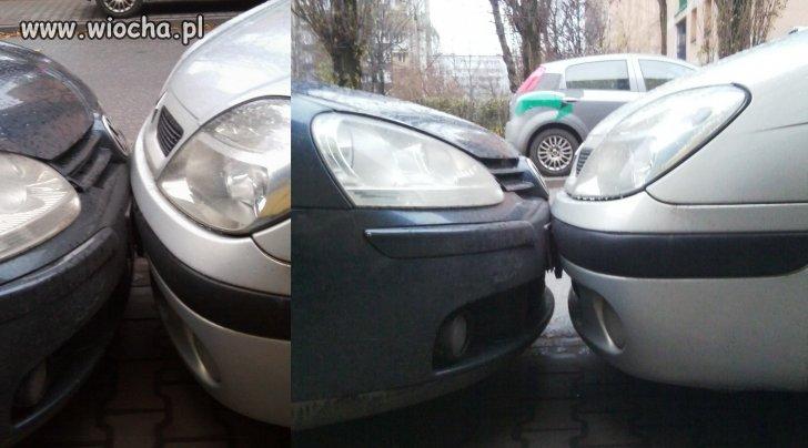 Idealnie zaparkowane.