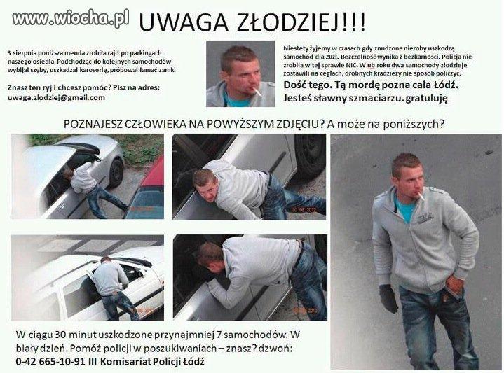 Wiocha w Łodzi