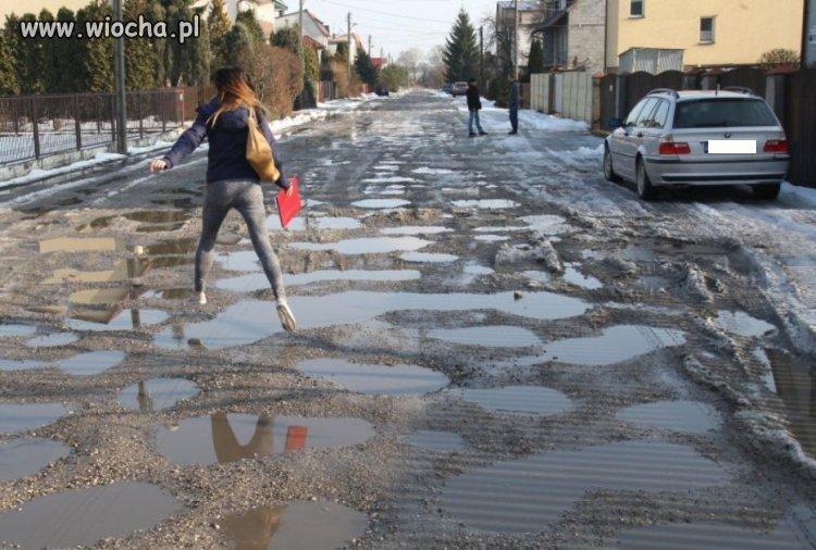 Ulica Górnicza w Kielcach - kilka minut od centrum