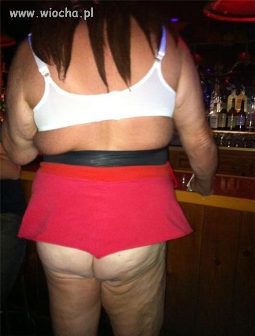 Sobie wyszła do baru..