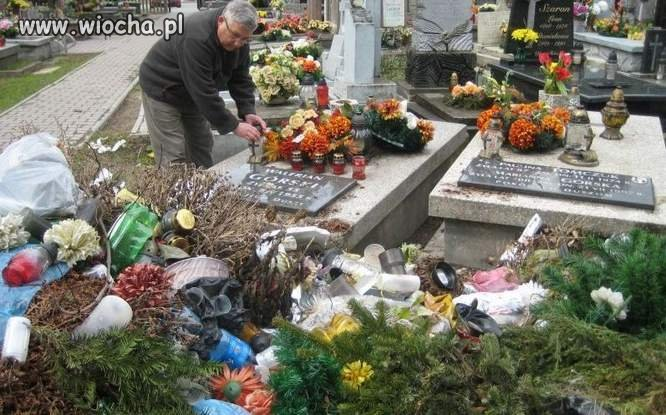 Zero szacunku dla zmarłych