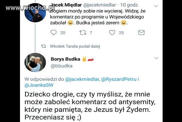 """Takiej riposty po nazwaniu Borysa Budki """"zerem"""""""