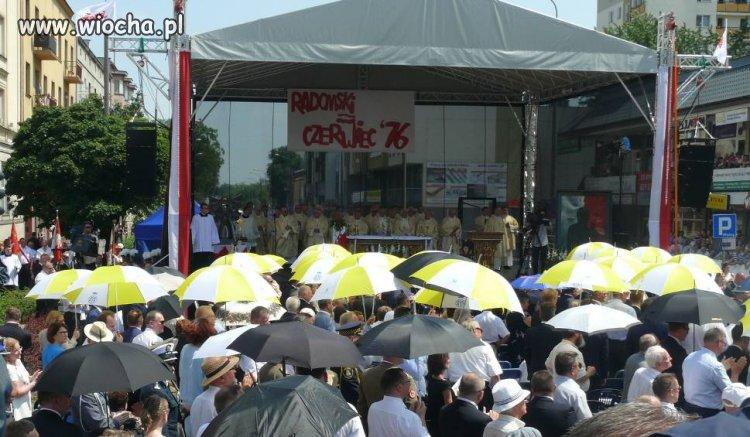 Obchody rocznicy Robotniczego Protestu w Radomiu