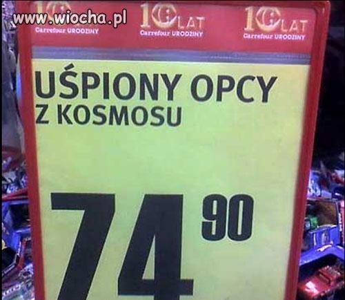 """""""Uśpiony OPCY z kosmosu""""."""