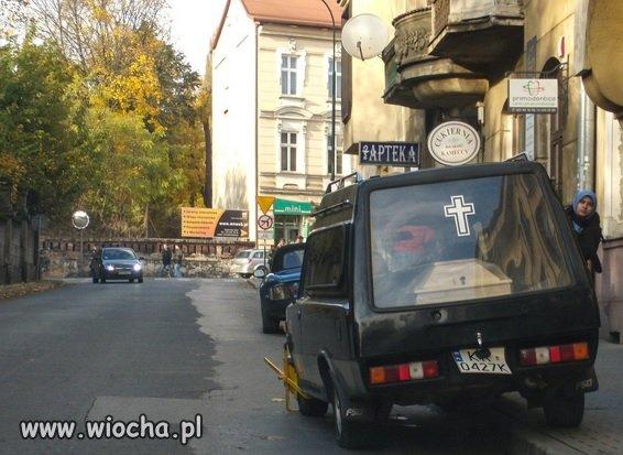 Czasami w Krakowie, klient musi trochę