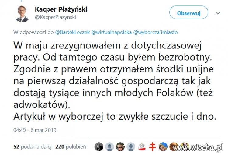 Piękny gest J. Kaczyńskiego