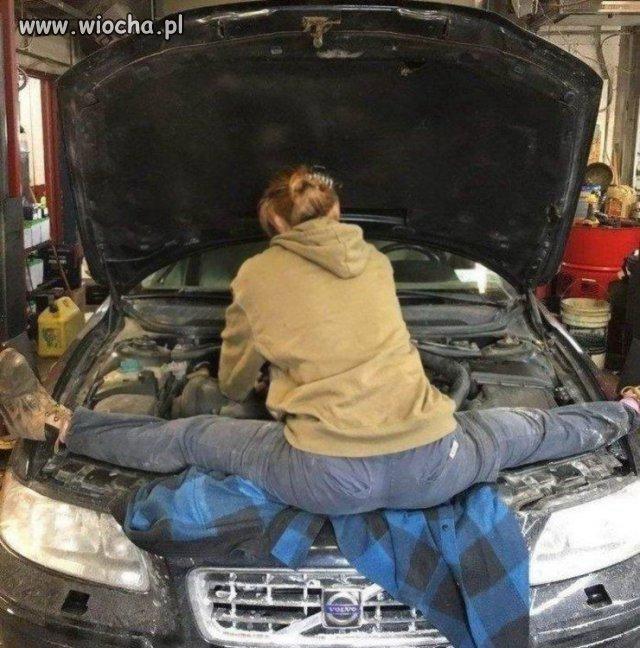 A samochody naprawiam tak