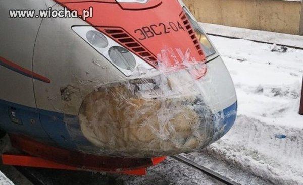 Ruska rakieta  kolejowa.