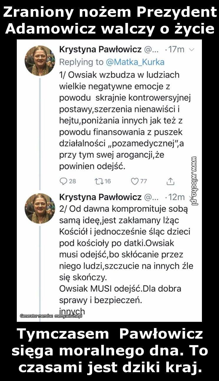 Zraniony nożem Prezydent Adamowicz walczy o życie