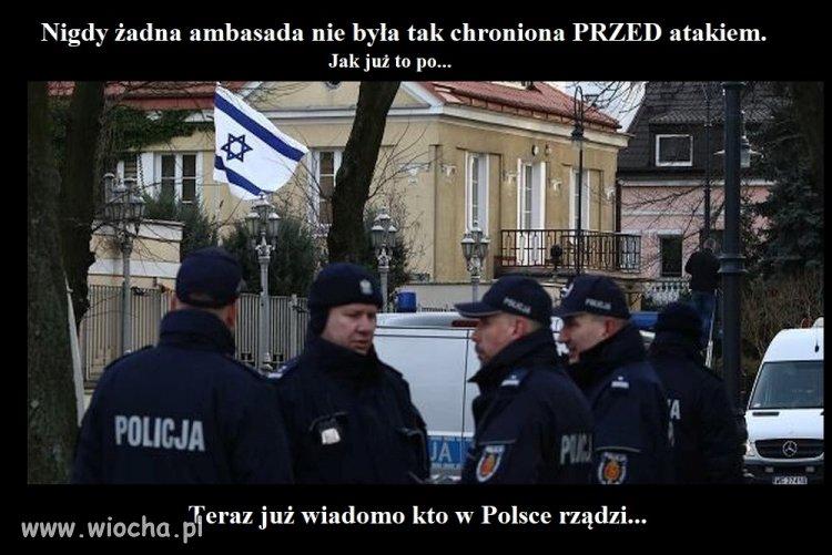 Ambasada Izraela w Polsce.