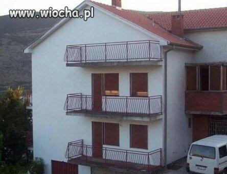 Poddasze z balkonem