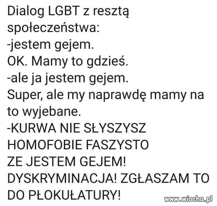 Rozmowa z LGBT