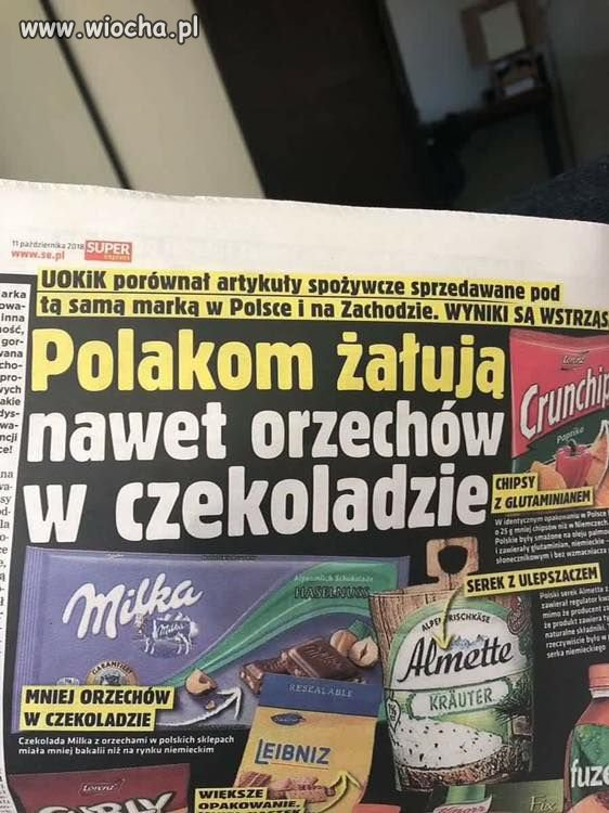 Bo Polak to gorszy sort