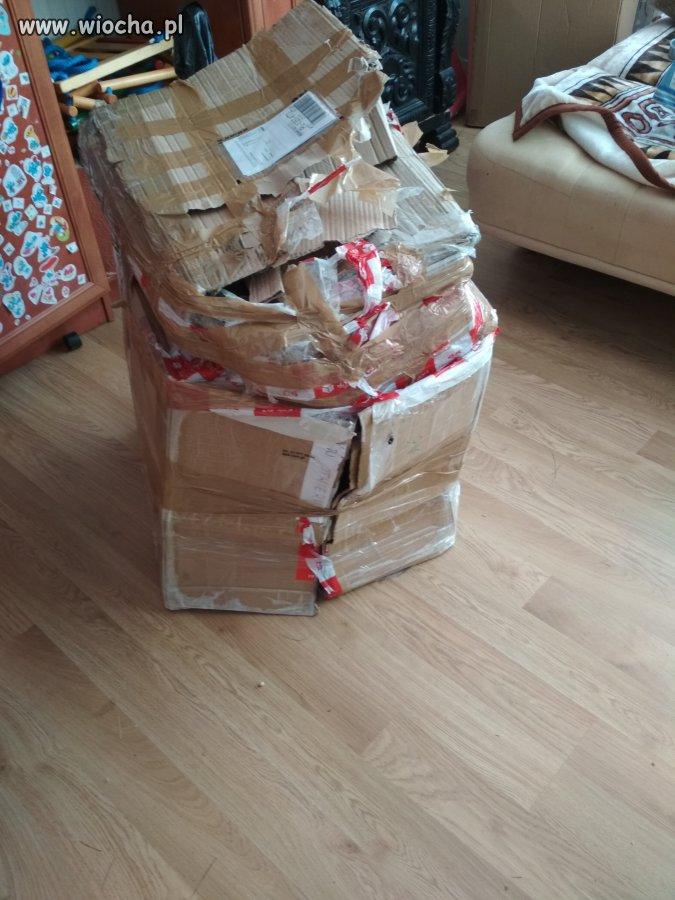 Cała paczka dostarczona przez DPD Polska