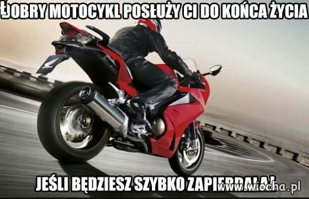 Dobry motocykl