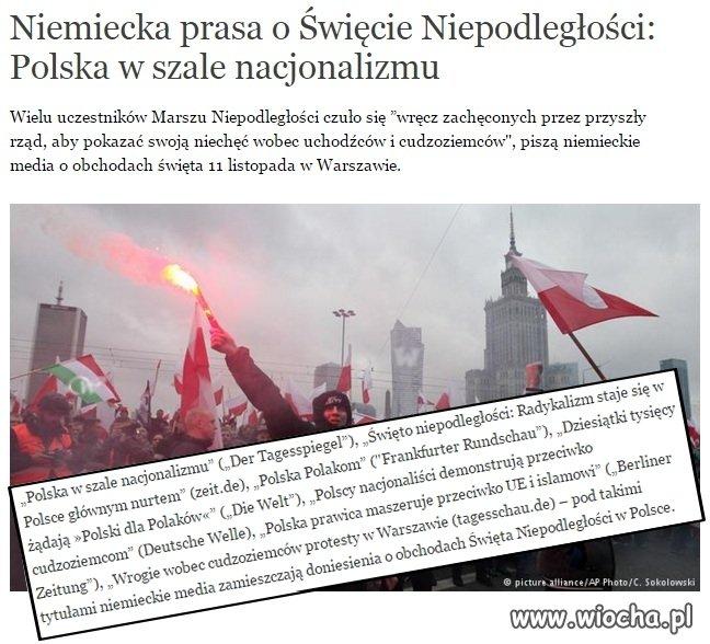 """""""Polska w szale nacjonalizmu"""" Nie no ku#a..."""