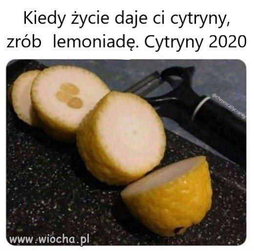 Cytryny 2020
