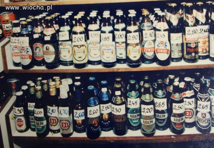 Napił bym się piwka z tamtych lat