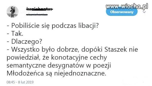 Wszystko przez Staszka!