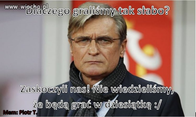 Po meczu Polska - Armenia