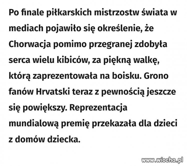 Chorwaci pokazali że mają wielkie serca nie tylko