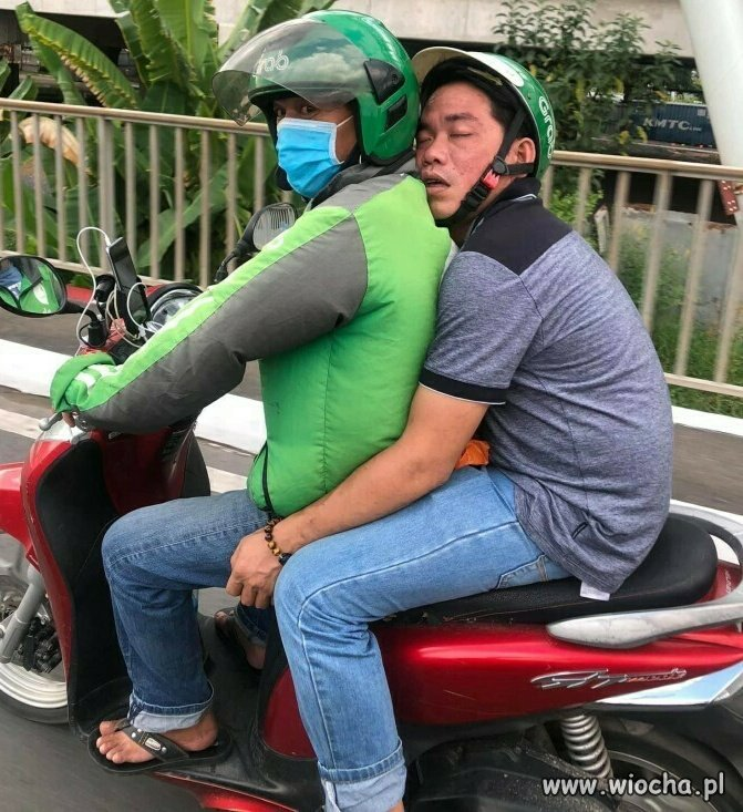 Uber po azjatycku