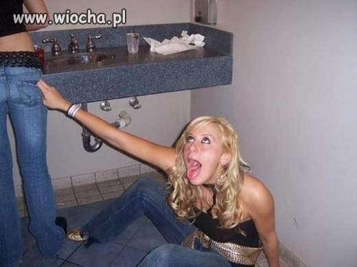 Nie ma gorszego widoku jak pijana dziewczyna
