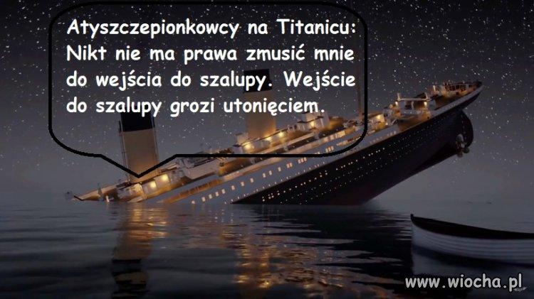 Antyszczepionkowcy na Titanicu