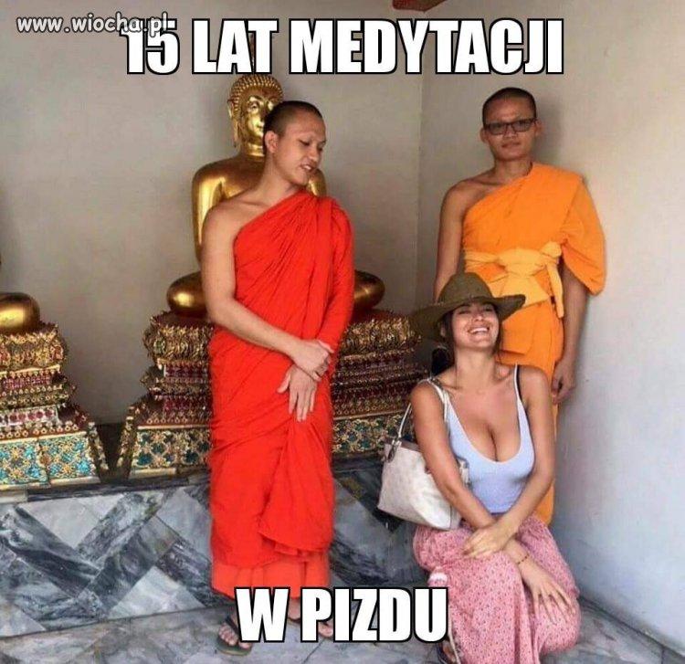 15 lat medytacji