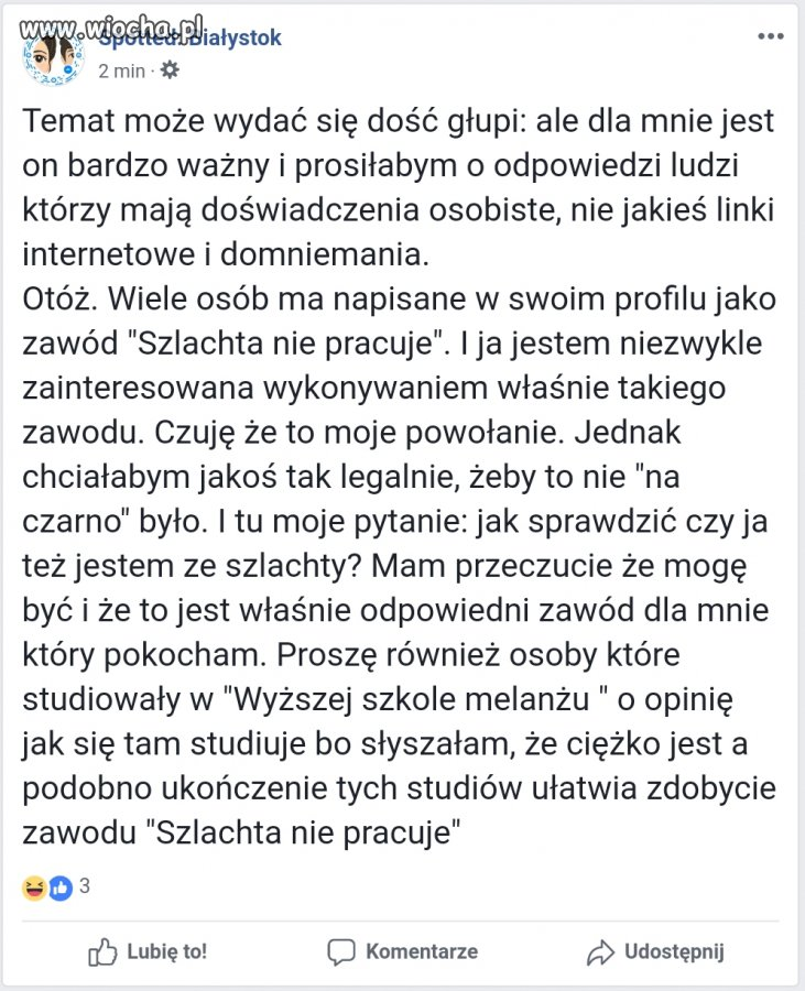 """Firma """"Szlachta nie pracuje"""""""