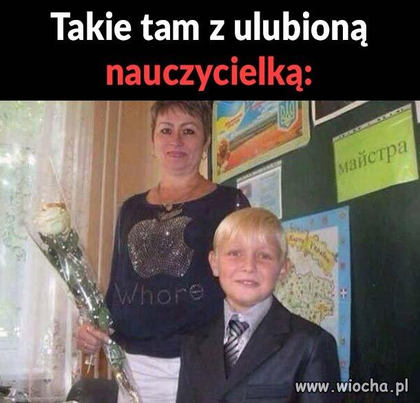 Moja nauczycielka