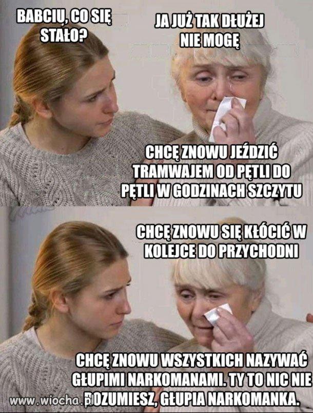 Tragedia starszych kobiet