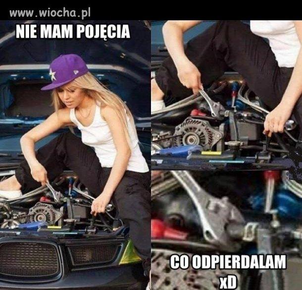 Kobieta Mechanik Wiocha Pl Absurd 1235758