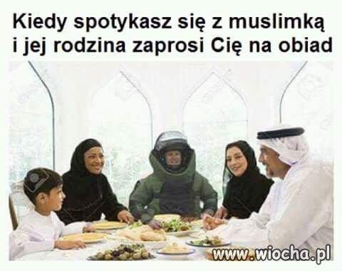 Obiad z muslimami