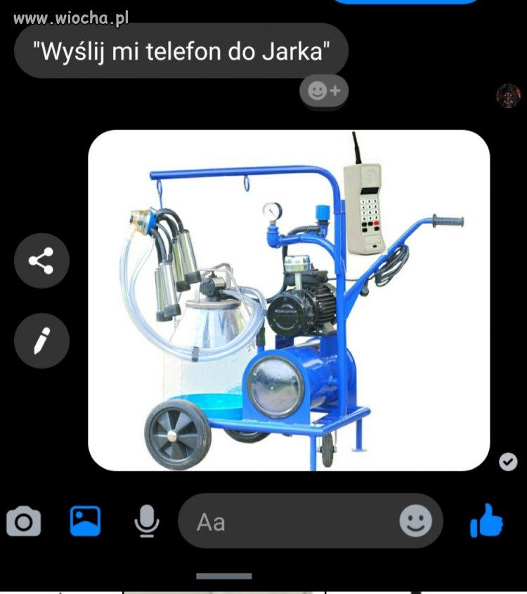 Telefon do Jarka