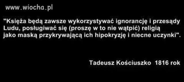 Warto słuchać mądrych Polaków ...