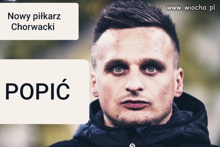 Nowy piłkarz  Chorwacki