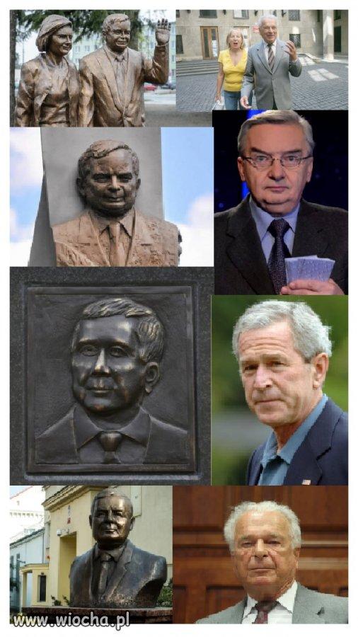 Zemsta rzeźbiarza? inspiracje polityczne?