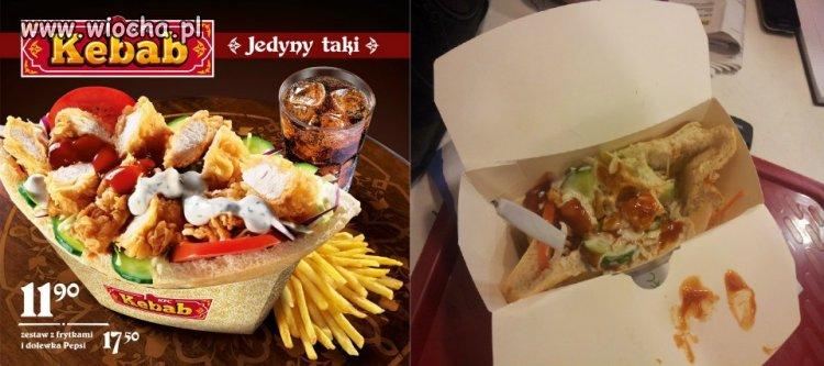 Kebab z KFC