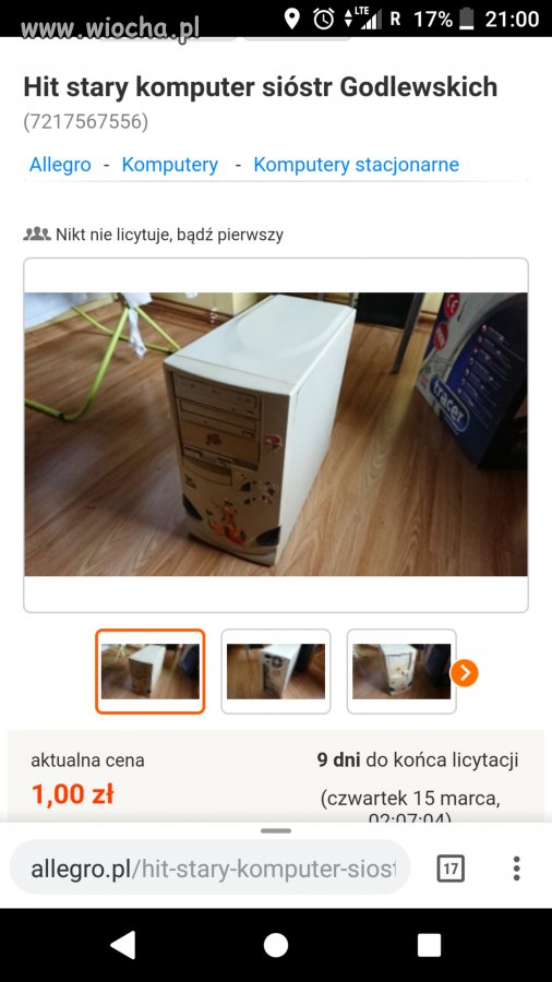 89aae41d78 Znalezione na allegro - wiocha.pl absurd 1499476